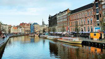 Amsterdam: Singel Kanalı Canli İzle