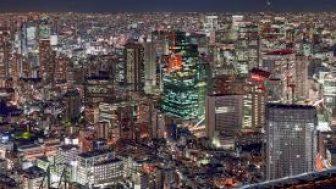 Tokyo: Roppongi Gökyüzü Manzaralı Canli İzle