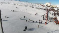 Kayseri Erciyes Dağı Tekir Kızak Alanı canlı mobese izle