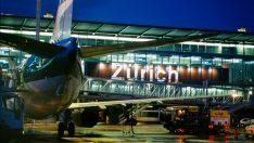 Zürih Havalimanı (Flughafen Zürih), Zürih, İsviçre Canli İzle