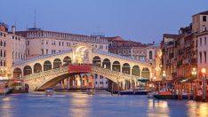 Venedik: Rialto Köprüsü